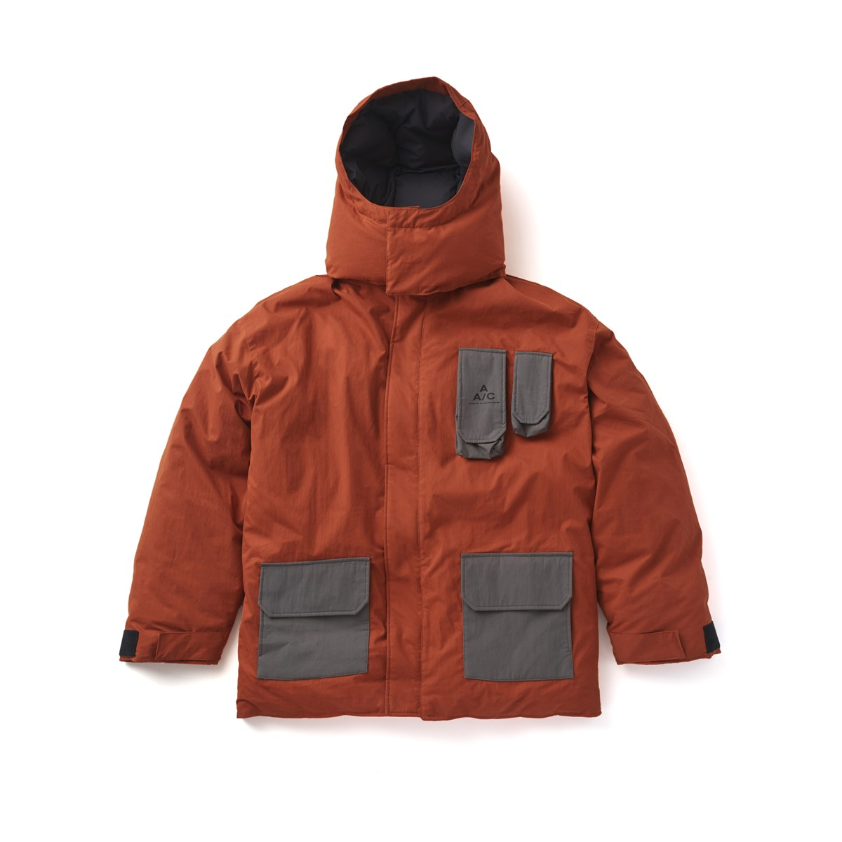 Crease Down Jacket (orange)