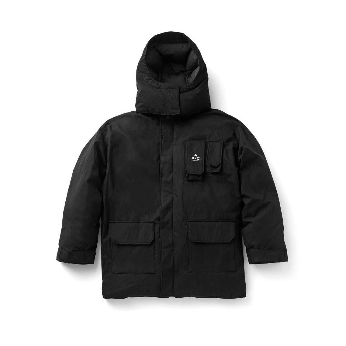 Crease Down Jacket (black)