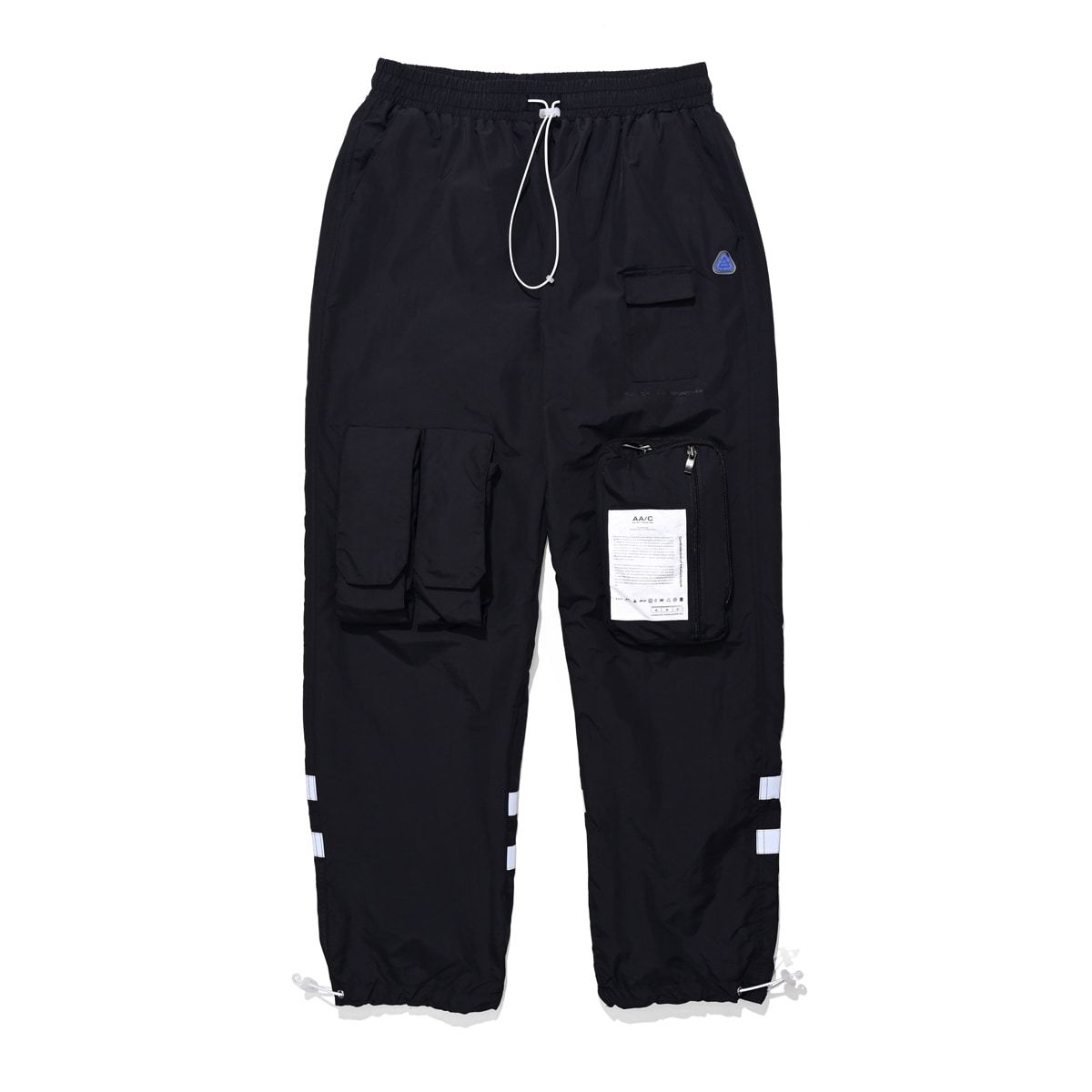 8 pocket smock pants (black)