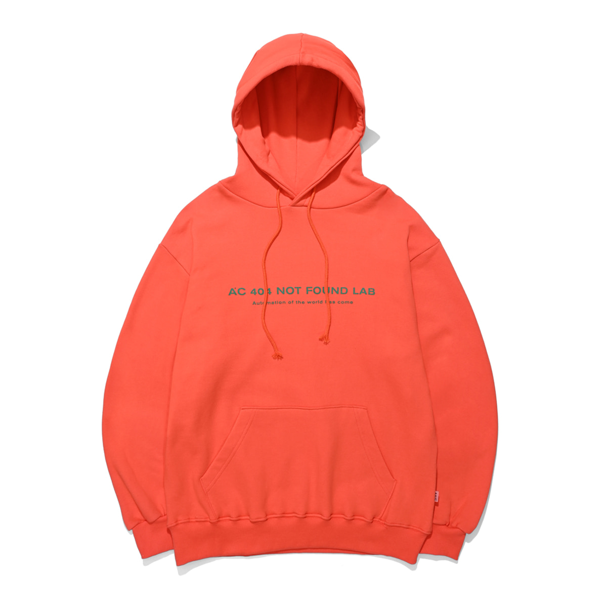 404 NOT FOUND HOODIE (orange)