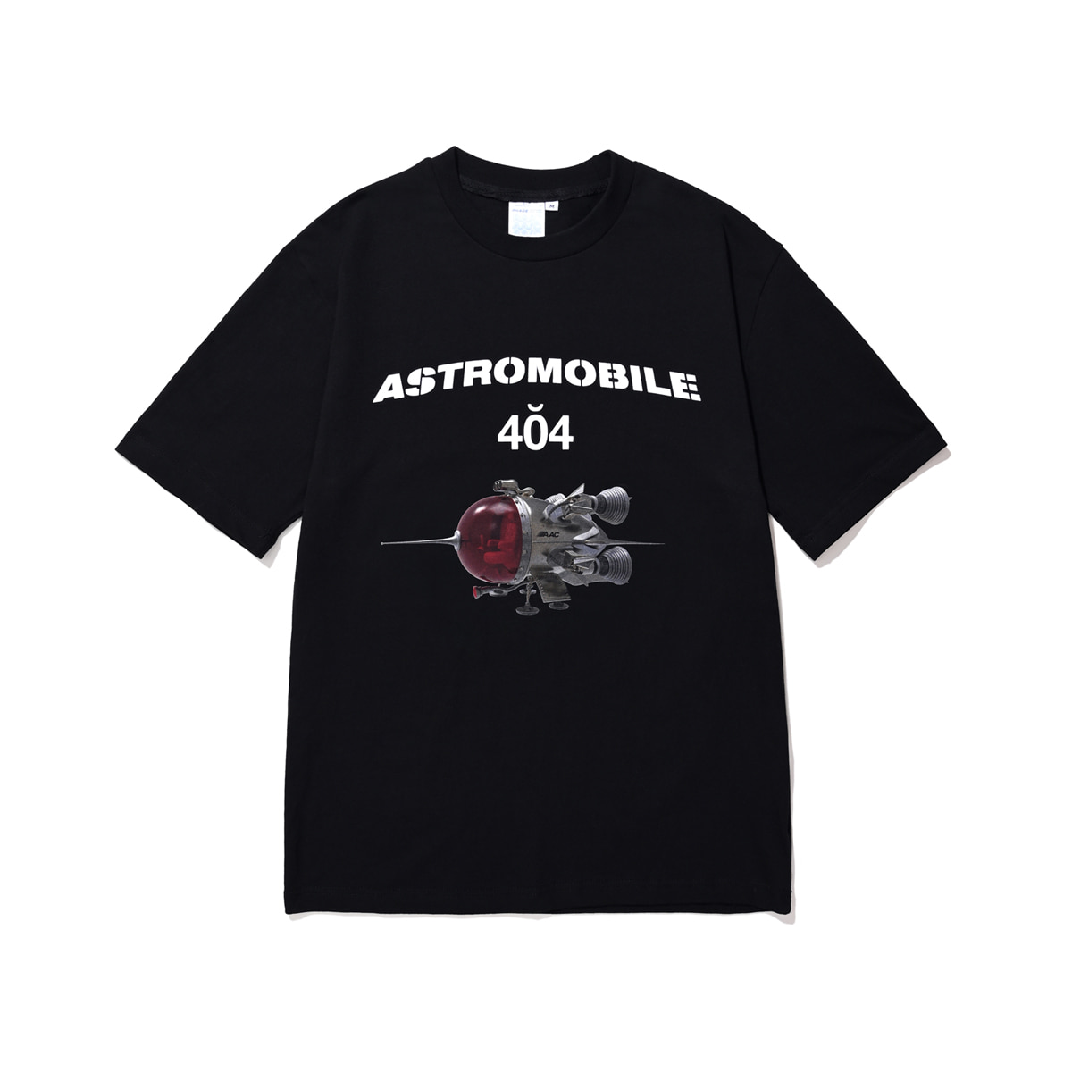 Astromobile T-shirt (black)