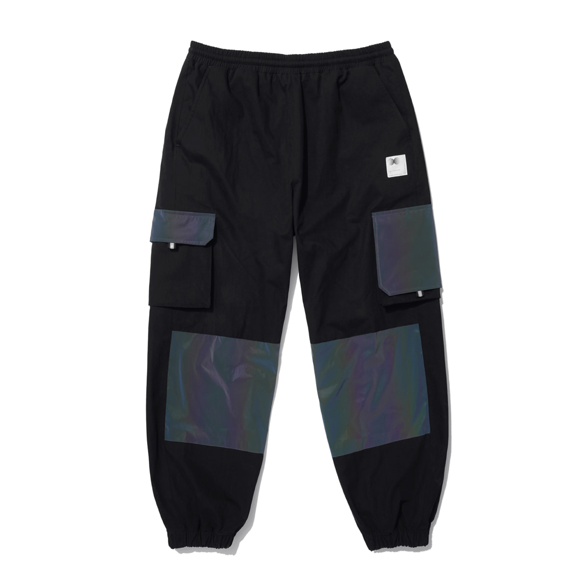 Hologram Utility Cago Pants (black)