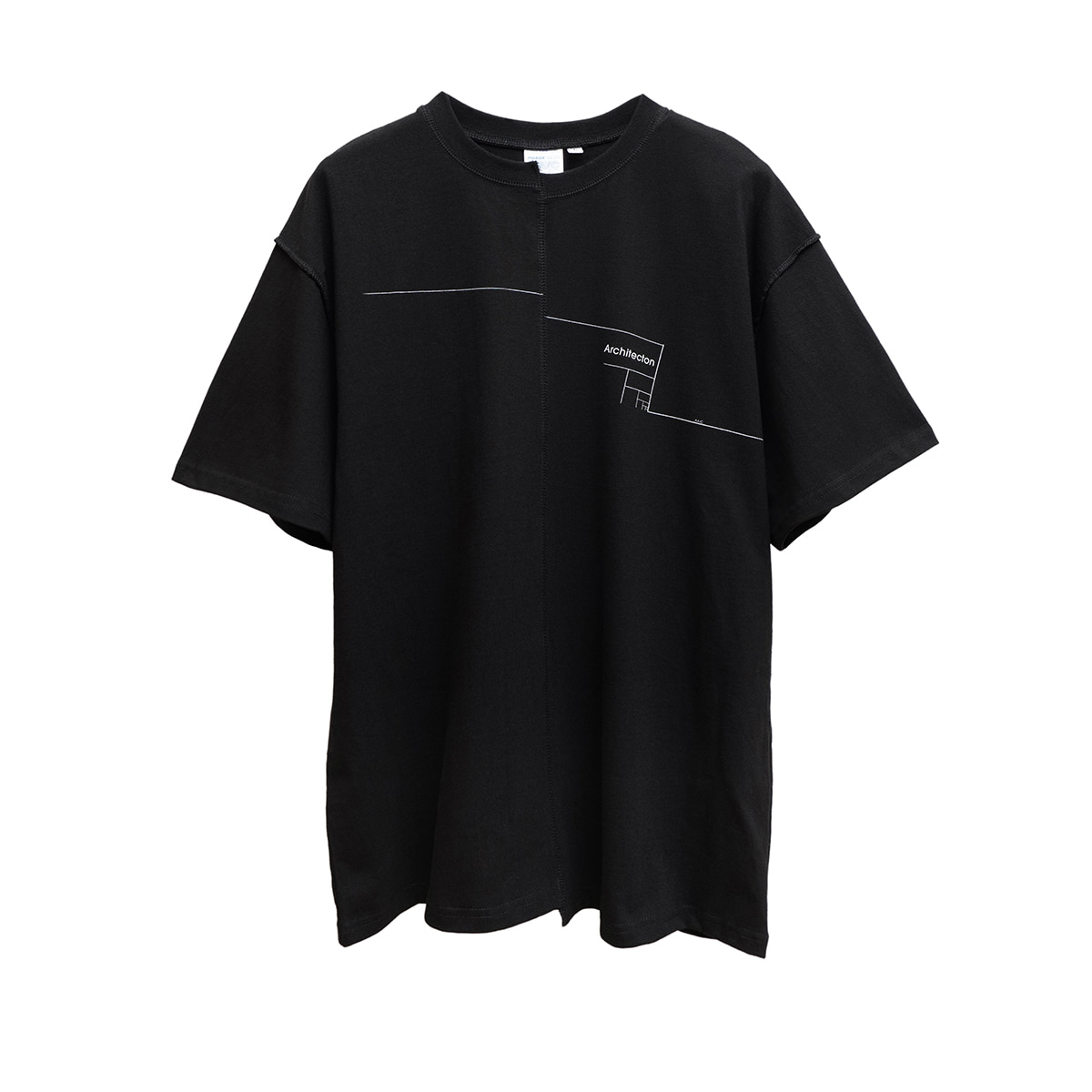 Distorted Architecton T-shirt (black)