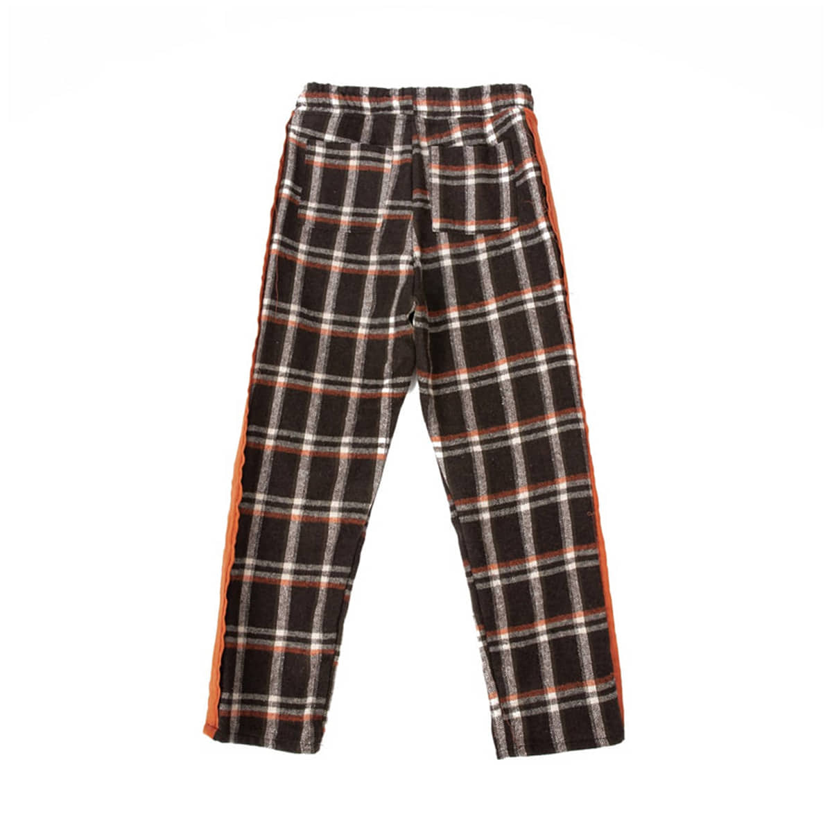 Cozy Check Pajamas (orange)
