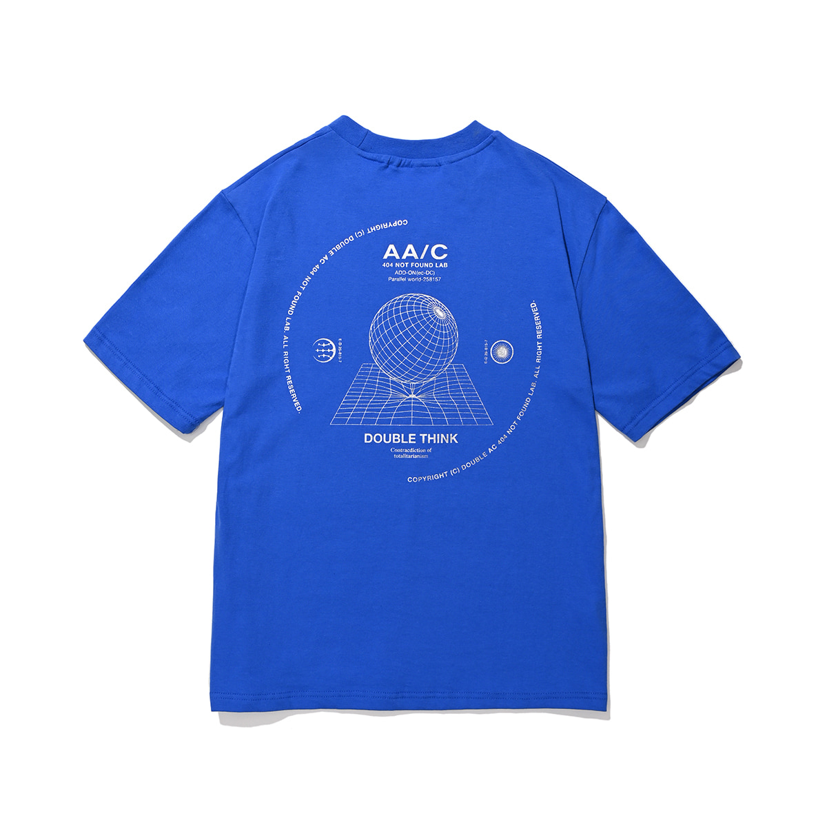 Black Hole T-shirt (royal blue)
