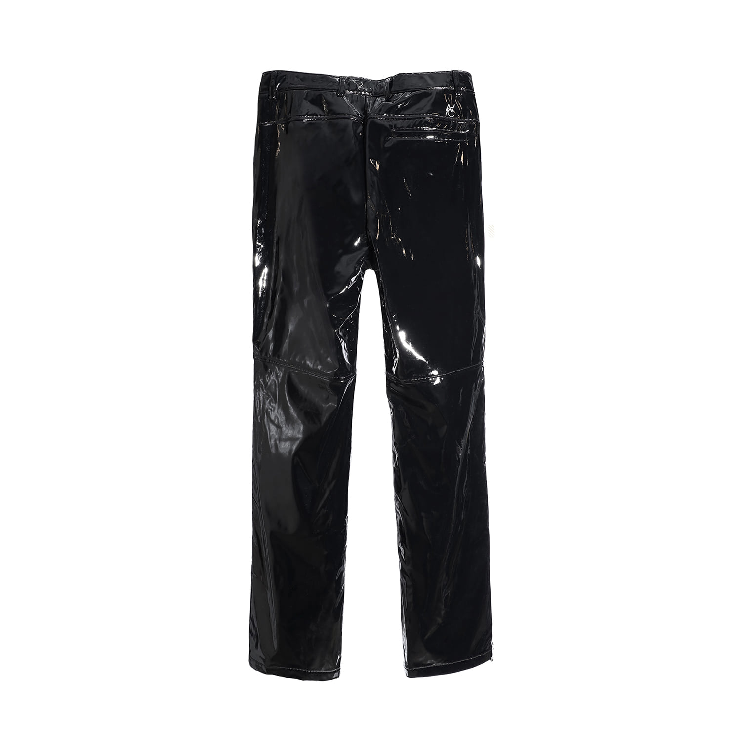 Zippered Straight/Bootcut Trouser (enamel)